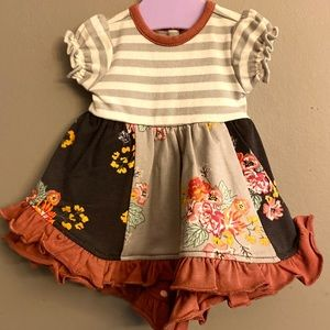 EUC Matilda Jane Joanna Gaines Doll dress.
